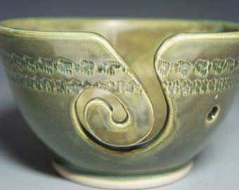 Hand Thrown Ceramic Yarn Bowl