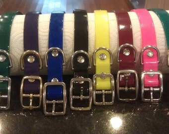 "1/2"" Biothane Puppy Collars - Set of 6"