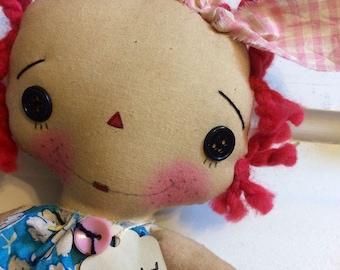 Love you more ragdoll - Raggedy Annie - Raggedy Ann doll - Raggedy Anne- Mother's Day gifts -