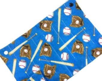 Marble maze fidget RTS, stress relief sensory toy, boy child men senior, large blue baseball flannel cloth fabric, autism alzheimer dementia