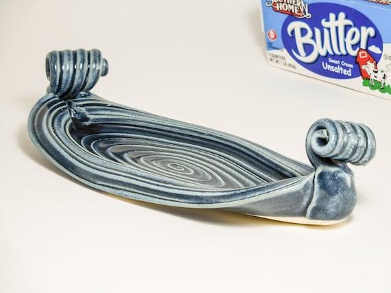 Butter Holder - Butterplate - Handmade Butter Dish - Butter Service - Butter Tray - Butter Boat - Butter Dish Pottery - In Stock