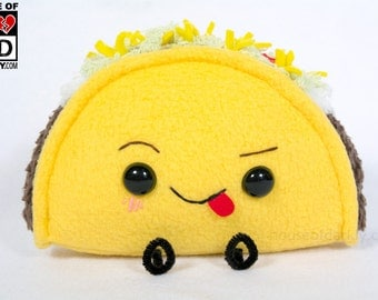 Funny Taco mischievous food plush