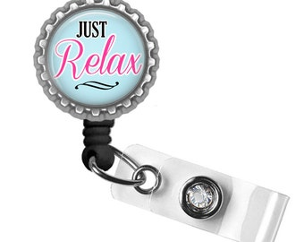 Badge Reel, Nurse Badge, OB Nurse ID Badge, Retractable ID Holder, Gifts for Nurses, Nurse Lanyard, Gifts for Her