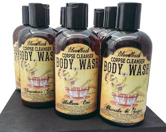 Zombie Zen Vegan Body Wash Corpse Cleanser Shower Gel Organic