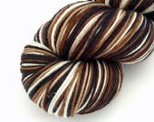 Hailey - GRADIENT Self Striping - Hand Dyed Targhee and Nylon Sock Yarn - Essence