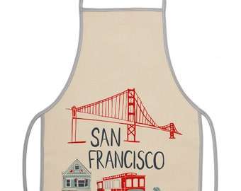 Kid's Apron - San Francisco