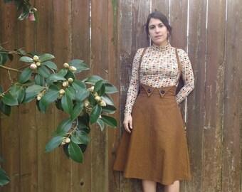 Darla Essex linen suspender skirt Sz 6