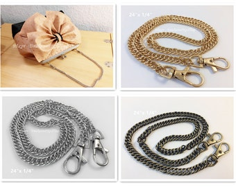 "PC002 - 24"" Purse Chain, Choose From 3 Colors"