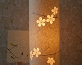 SECONDS SALE! Cherry Blossom lamp half price!