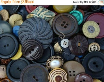 ON SALE 50 Vintage Button Lot