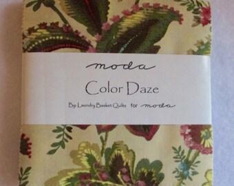 SALE Color Daze Charm Pack Fabric - Moda - Laundry Basket Quilts