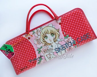 70's Vintage sketch/art bag - Japanese anime manga