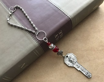 Patron Saint Car Rear View Mirror Charm: St. Christopher Travelers' Protection Charm