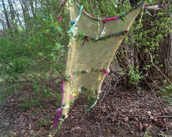 woodland faerie curtain from the enchanted forest -  gossamer garden