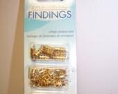 CLEARANCE - Jewelry Essentials Crimp/Twist Mix Gold