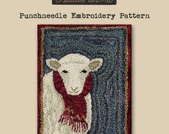 Punchneedle | Teresa Kogut | Pattern | Needlwork | DIY | Crafts | For Ewe | PN165