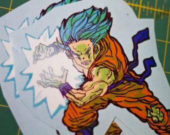 Hero Stickers - Goku