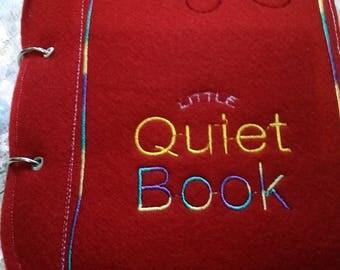 Quiet Babys Book, Quiet Book, Quiet Book for Baby