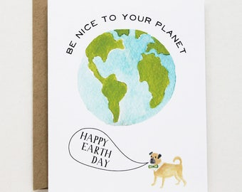 Earth Day Card - Happy Earth Day