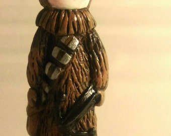 Poppet plays Chewbacca #5 of a Very Limited Edition of 50- Lisa Snellings