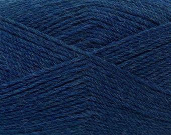 Blue Denim - Light Weight Sock Knitting Yarn, 50-gram balls
