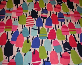 FQ cut of Lobster Buoy Fabric by Kate Nelligan for Moda~ Beach House