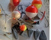 Junk Drawer Fishing Stuff #2 - Surf Casting, Bobbers, Weights, Hooks