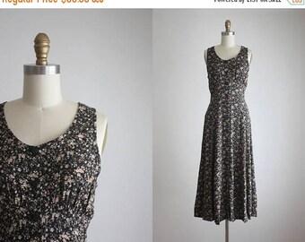 25% SALE botanical field dress