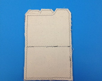 5x7 Canvas Mini File Folders