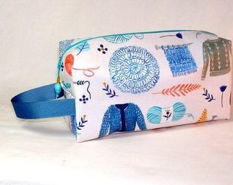 Winter Woollies Project Bag - Premium Fabric