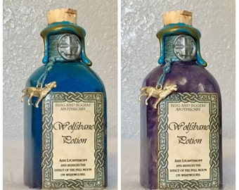 Wolfsbane Potion, A Color Change Harry Potter Decoration or Prop