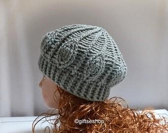 Crochet Beanie Pattern- Crochet Hat Patterns- Easy Crochet Hat N82