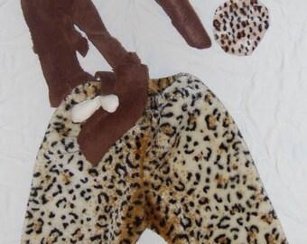 Bam Bam inspired Halloween Costume Set size 6-9 Month