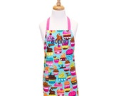 Child Apron Kids Apron Childrens Apron Children's Apron Girls Apron Child Apron Little Girl Apron Birthday Gift Personalized Apron