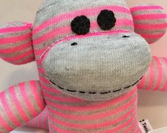 Shawna the Baby Friendly Sock Monkey