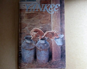 Vintage November 1981 Yankee Magazine