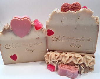 Hello Sweet Thang-Handmade-Cold Process-Soap-Natural-Gift for Her-Luxurious-Artisan-Soap-Abbotsford-BC-Canada