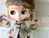 rêve de Rui x Blythe - British herring bone poncho coat