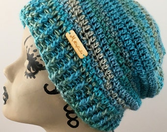 Hat, Beanie, Messy Bun, Ponytail, Slouchy ,Women, Teen