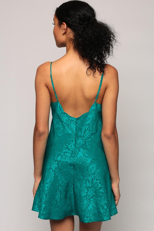 Lingerie Slip Dress Nightgown VICTORIA SECRET Mini Paisley
