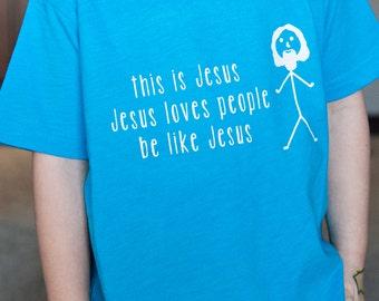 Be like Jesus - Kids/toddlers - tshirt