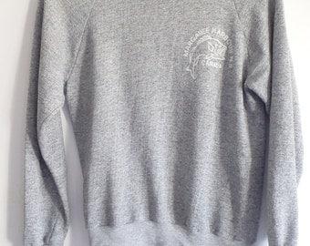 Sweatshirt Vintage Crewneck Grey