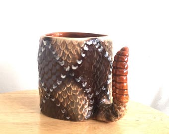 Rattlesnake Coffee Cup