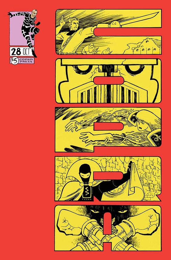 COPRA 28, Limited Edition Comic Book Series