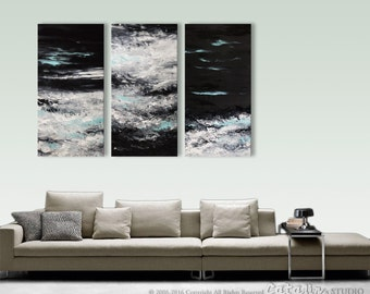 XXL, Abstract Painting,  Original Painting, Landscape, Seascape Abstract Wall Art, Home Decor, Large Painting,  Fine Art, Art By Catalin,