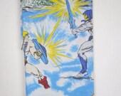 Vintage 80s He-Man Bed Sheet Flat Children Kids Cartoons Superhero