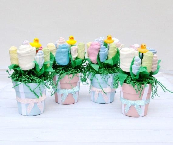 Baby Shower Centerpiece, Boy Girl Twins Baby Shower, Blue Pink Baby Shower, Twin Newborn Gifts, Twin Shower Decorations, Twin Baby Gifts