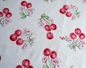 Cherry Fabric - American Folk & Fabric 1999 - 56 x 32