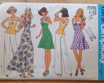 UNCUT Simplicity 6979 Dress or Top  Pattern - Size 6 & 8