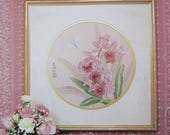 SALE- Ming Orchids/Counted Cross Stitch Patterns by Serendipity Designs/1987/Flowers/Wall Hanging